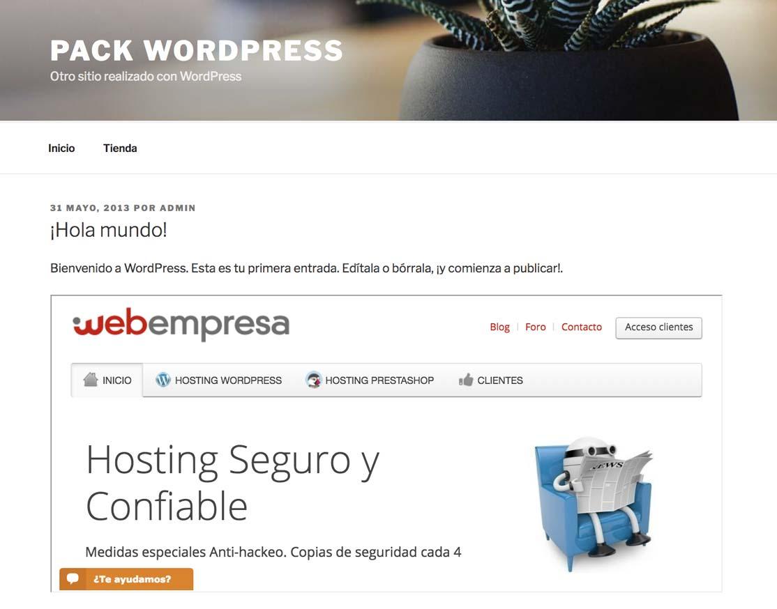 Insertar un Iframe en WordPress