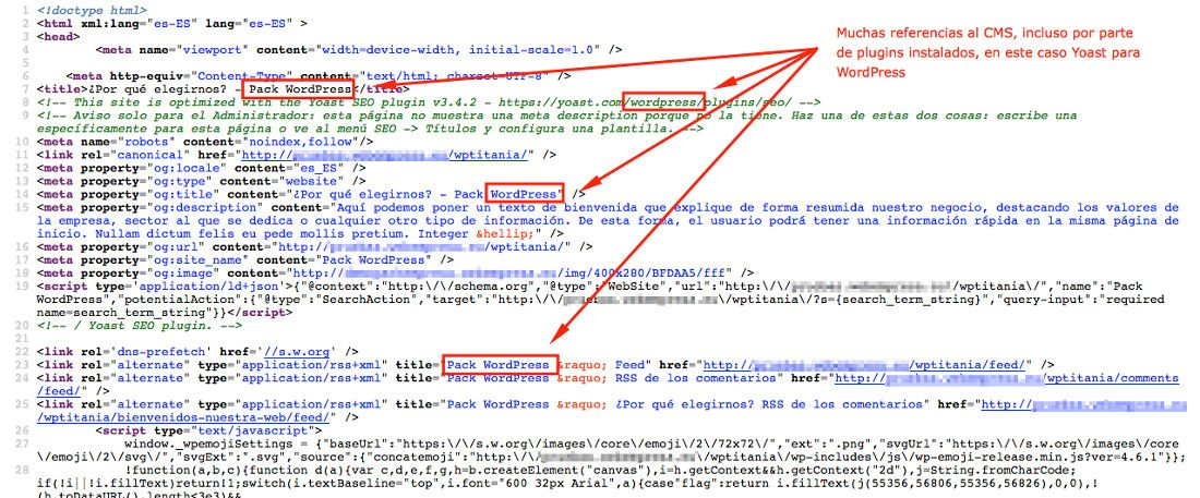 Cómo averiguar que CMS, plantilla y plugins utiliza una web?