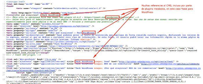 Ver código fuente de la página