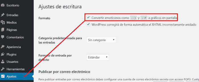 Incluir iconos en WordPress