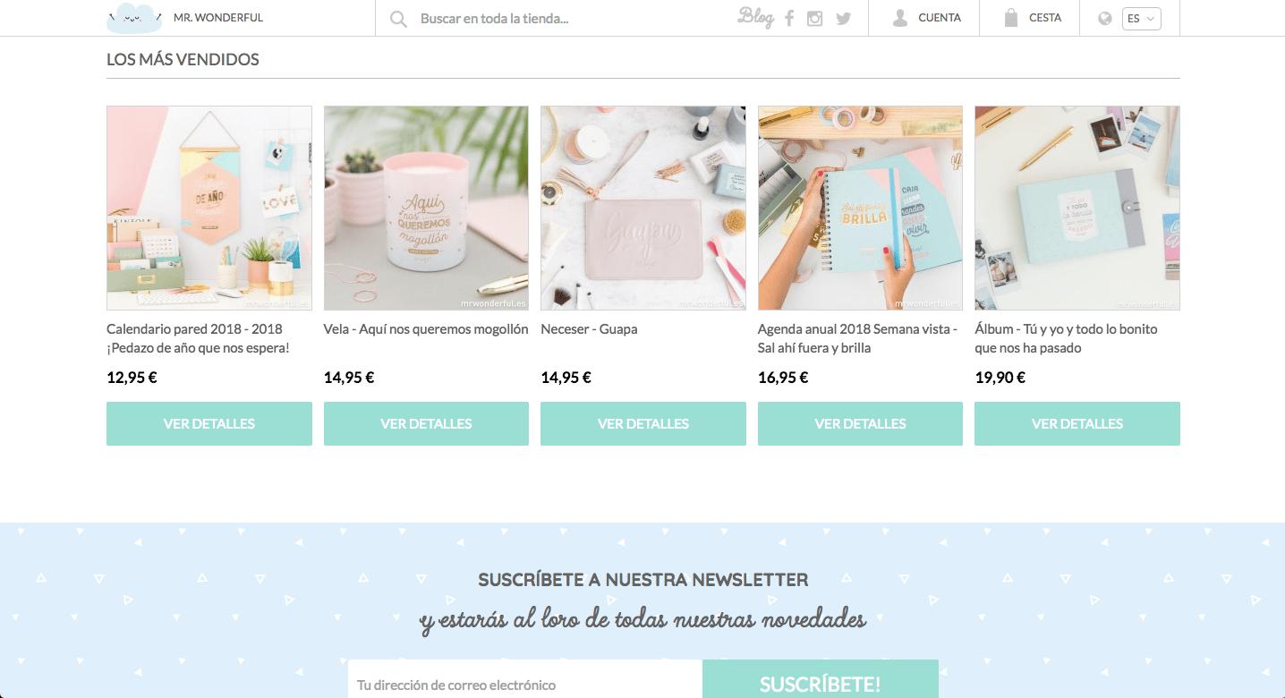 Copywriting para ecommerce c mo mejorar el seo de tu web - Articulos mas vendidos ...