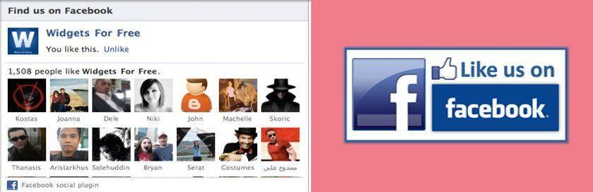 widgets populares facebook