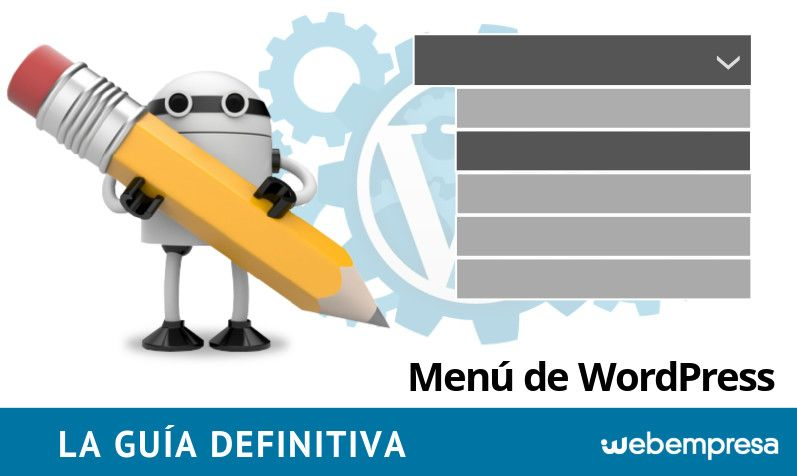 Menú WordPress