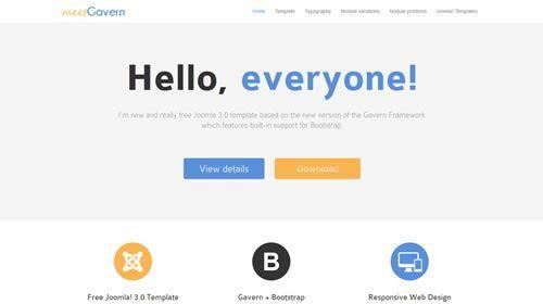 Las 10 mejores plantillas gratuitas responsive para Joomla 3.x