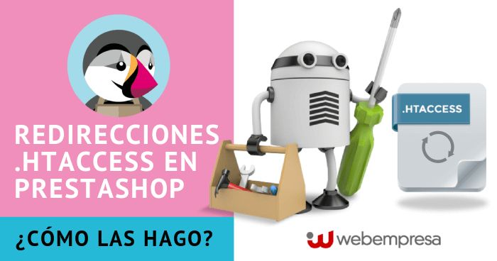 Redirecciones en .htaccess para PrestaShop