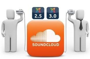 SoundCloud en Joomla