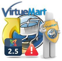 Disponible VirtueMart 2.6.10 para Joomla 2.5.x - Versión de Seguridad