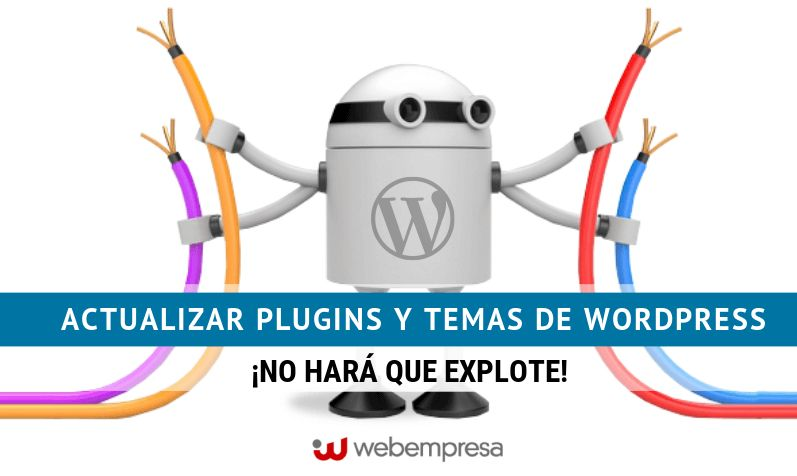 Actualizar plugins y temas de WordPress