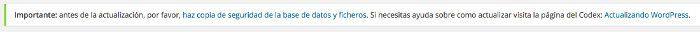 notificaciones en WordPress