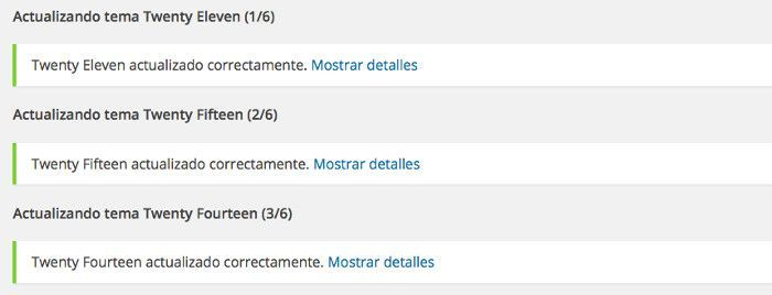 notificaciones en WordPress