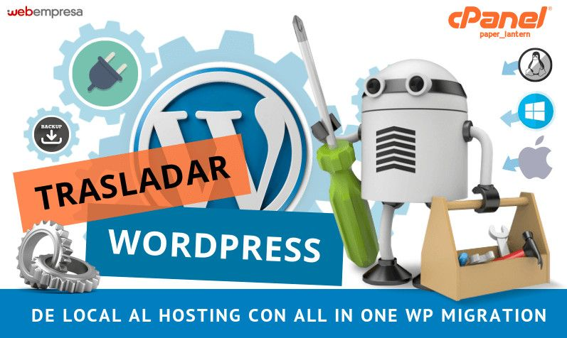 WordPress de local al Hosting