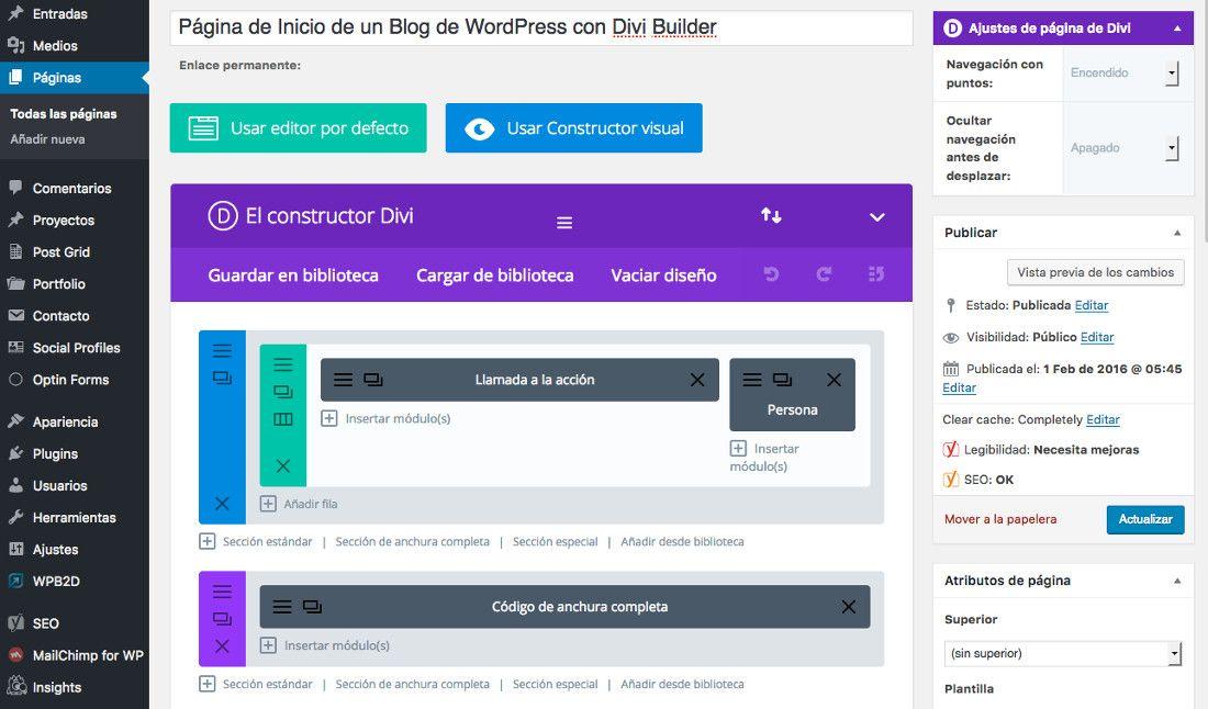 5 Constructores para WordPress que deberías conocer