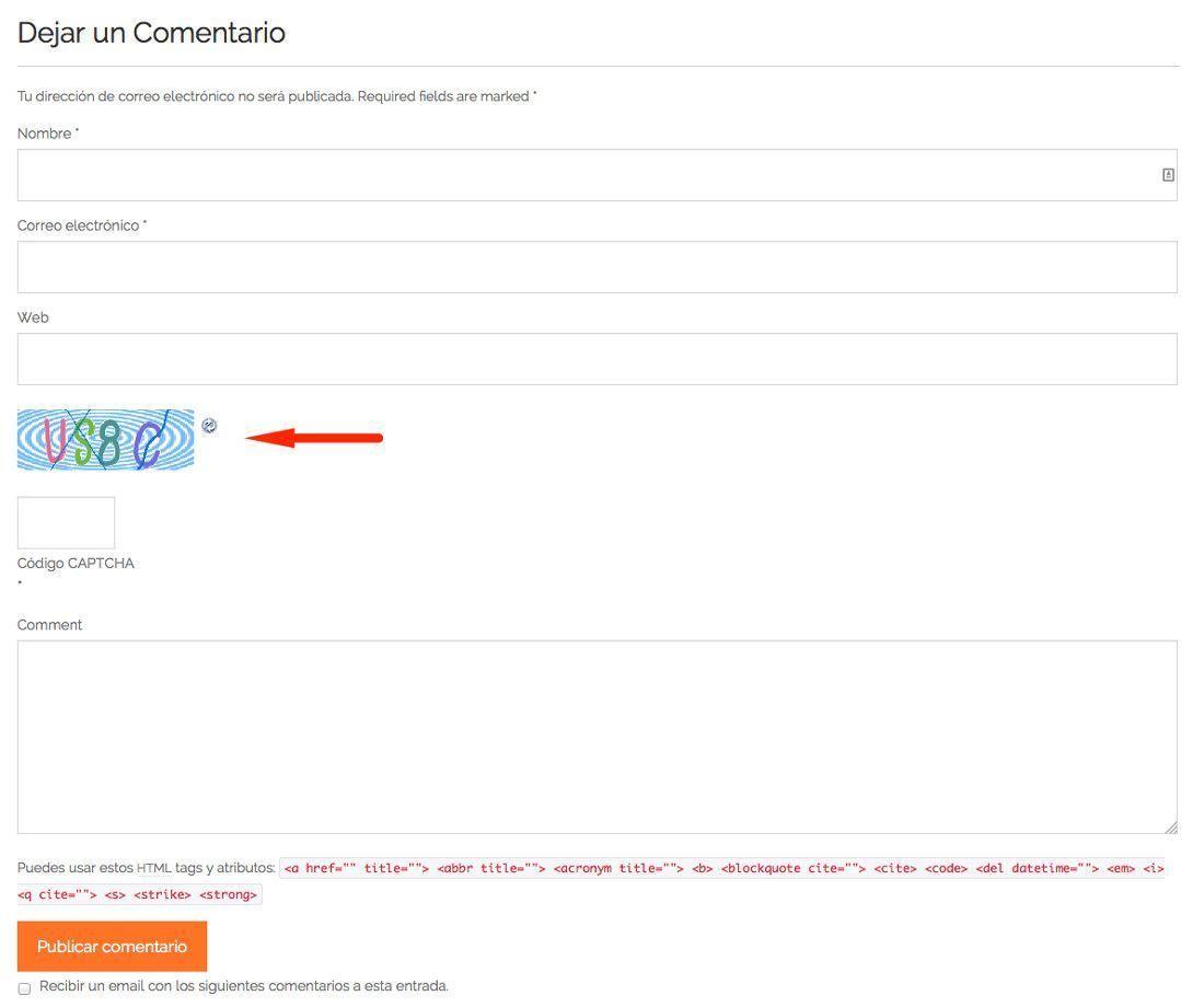 Pon CAPTCHA en WordPress a todos los formularios ¡y que no te la ...