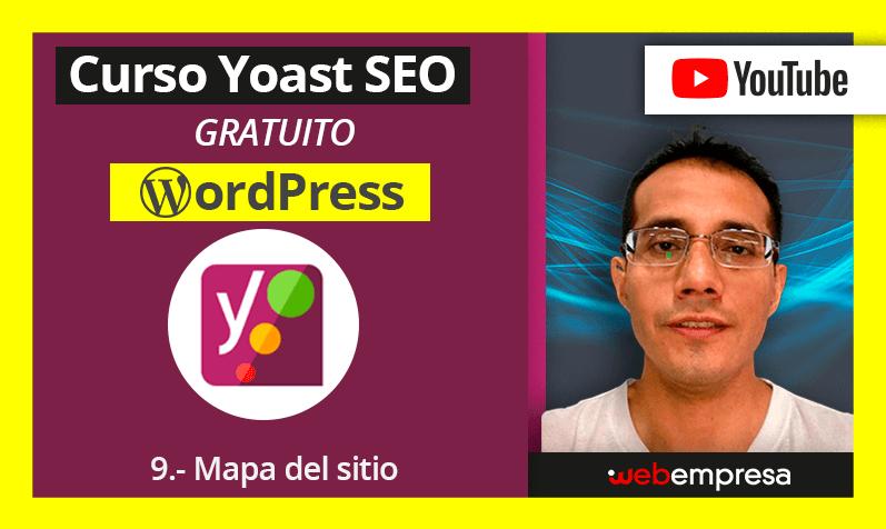 Curso Yoast Seo para WordPres - 9. Mapa del sitio