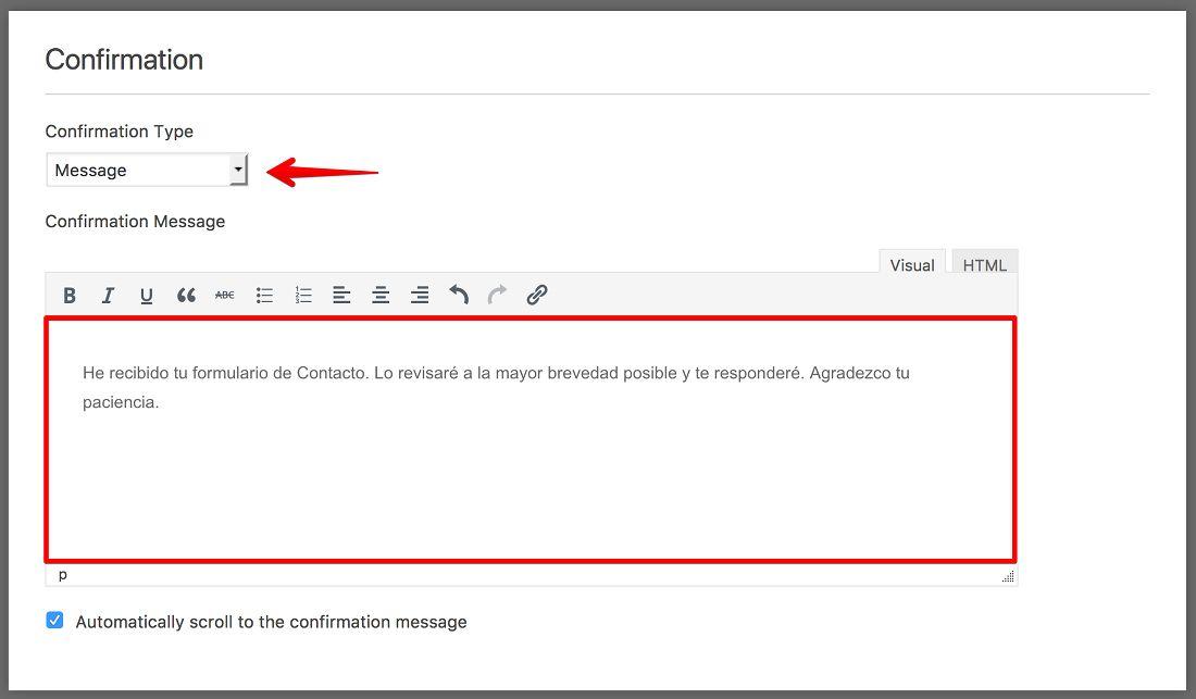 Formularios de Contacto en WordPress ¡rápidos y sencillos!