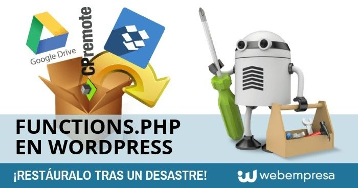 functions.php en WordPress