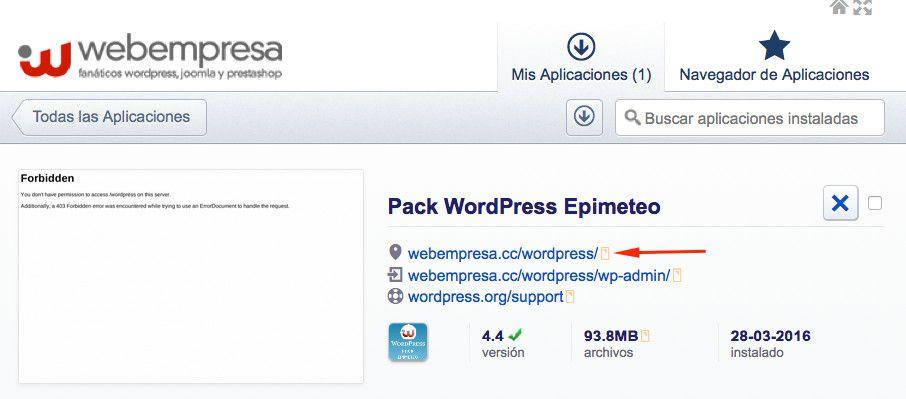 Cómo mover WordPress de una carpeta a la carpeta principal