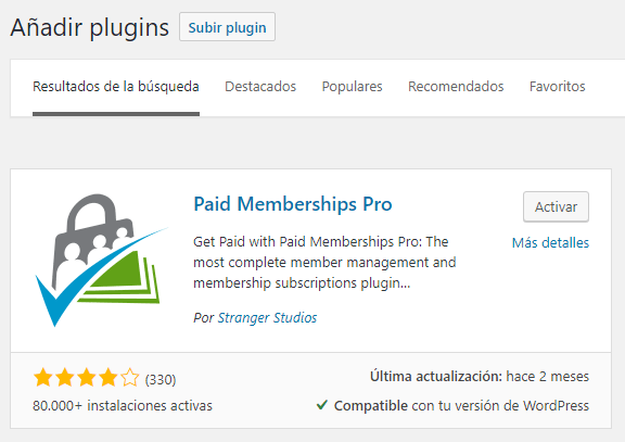 Cómo construir un sitio de membresía en WordPress: Paid Membership Pro