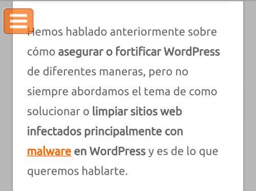 Haz que tu Menú de WordPress sea ¡más pegajoso!