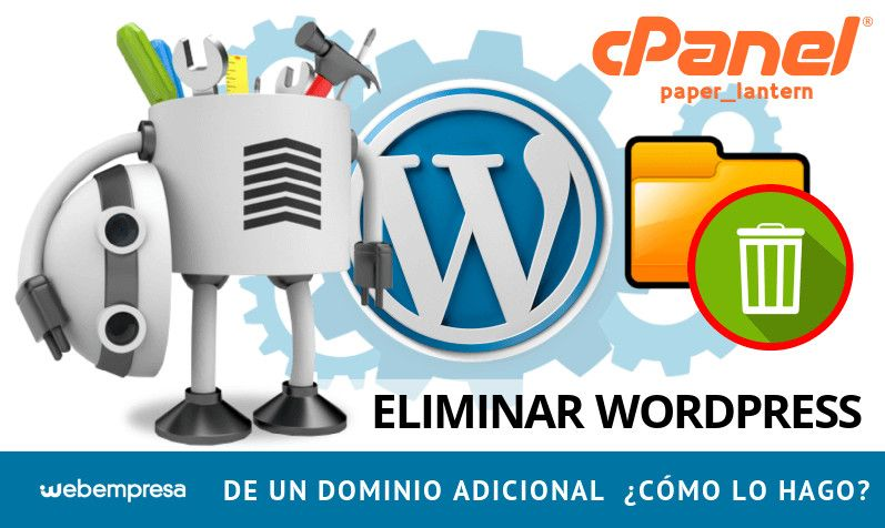 Eliminar WordPress