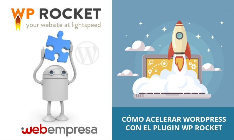 Como acelerar wordpress con WP Rocket