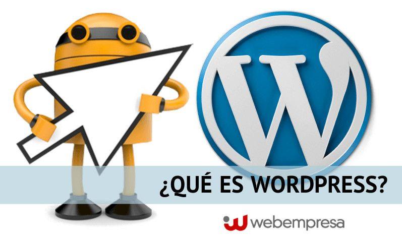 Qué es WordPress - características principales