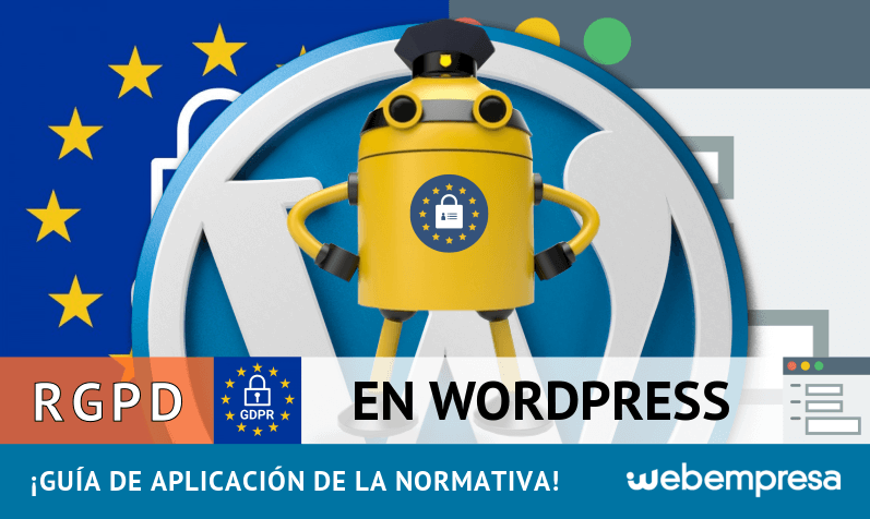 RGPD en WordPress