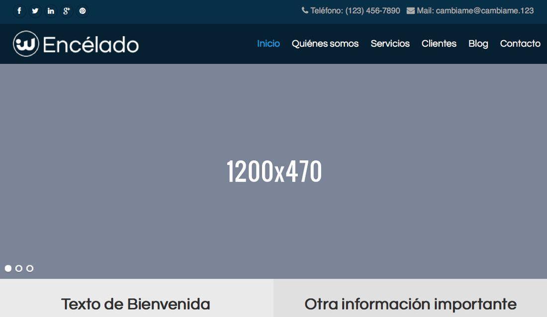 Contacto en WordPress ¡información siempre visible!
