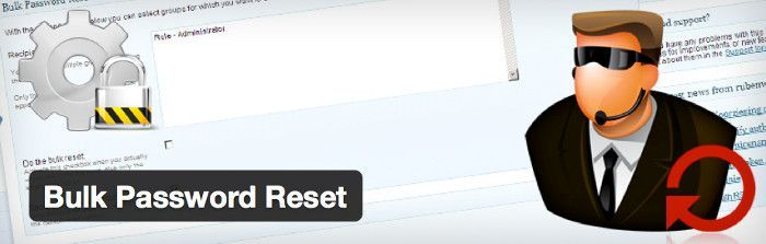 Bulk Password Reset