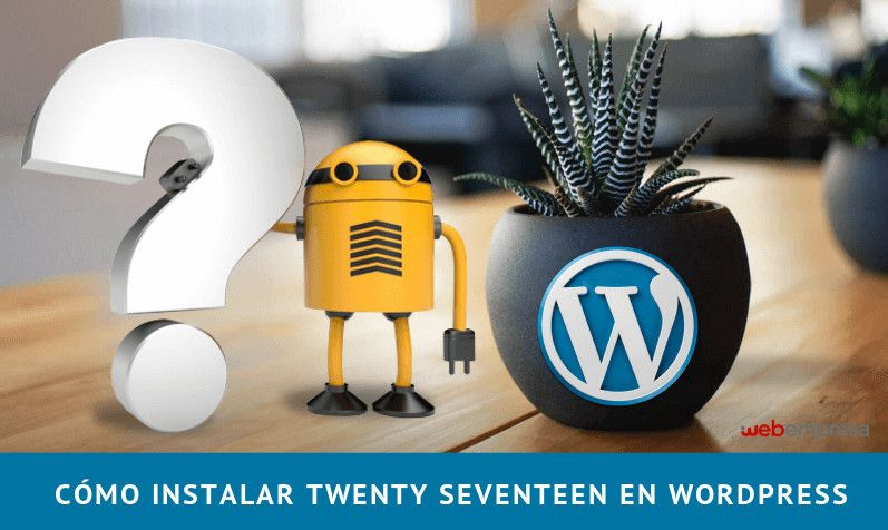 Twenty Seventeen en WordPress