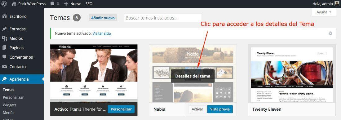 Cómo desinstalar temas de WordPress correctamente?