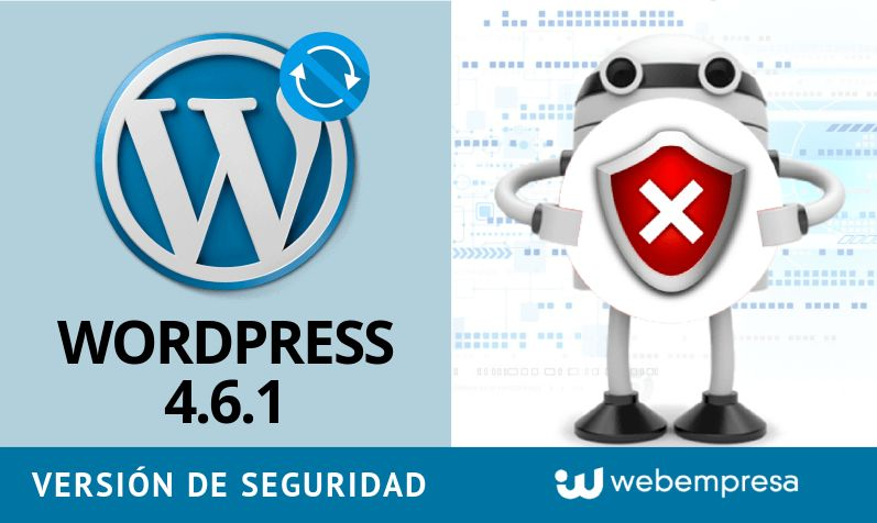 Actualiza a WordPress 4.6.1