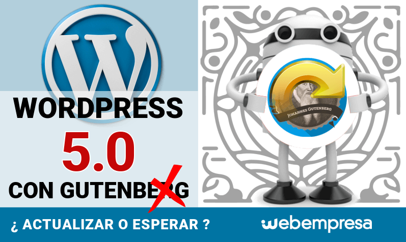 WordPress 5.0 con Gutenberg