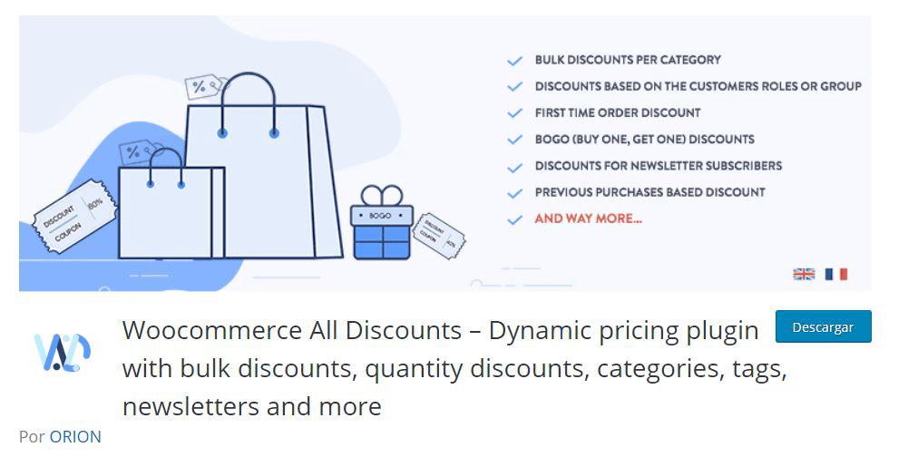 All Discounts – Dynamic pricing plugin
