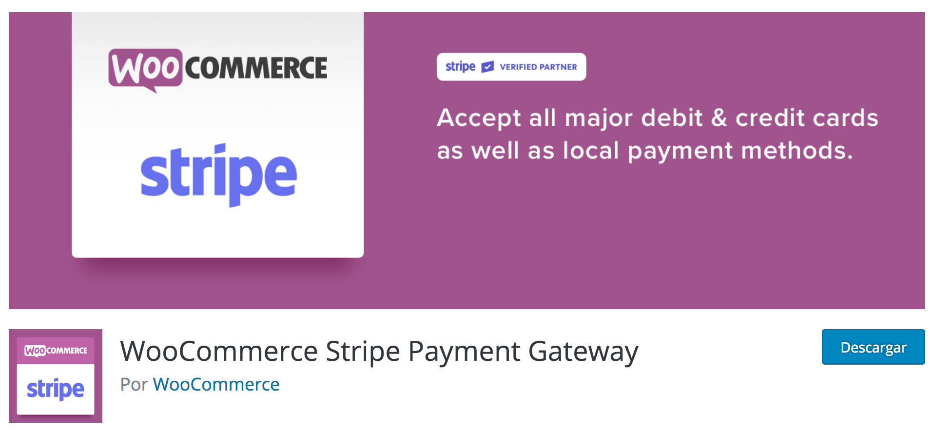WooCommerce Stripe Payment Gateway