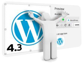 WordPress 4.3 Billie llegó
