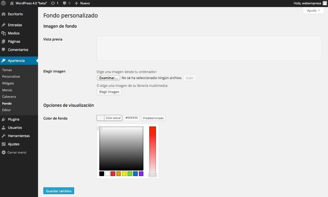 WordPress 4.0 Las novedades que incluye la nueva versión