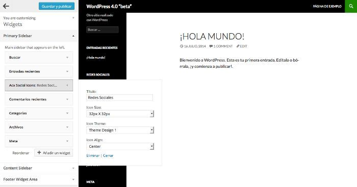 Blog WordPress en Español