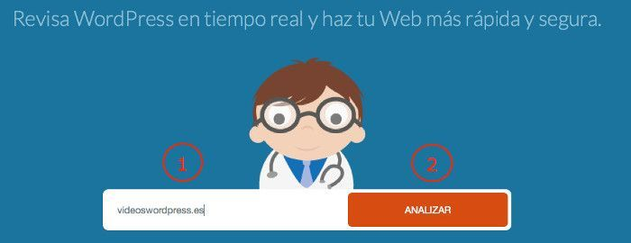 Ejecutar análisis con WP Doctor