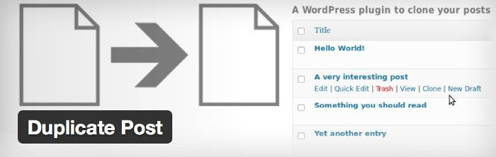 duplicar post en WordPress