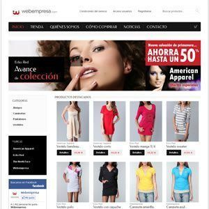 hosting tienda boutique