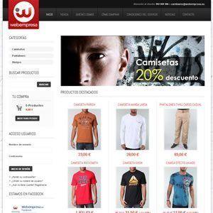 hosting tienda tiris