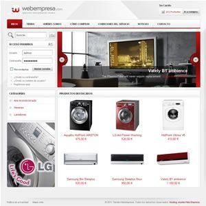 hosting tienda yourshop