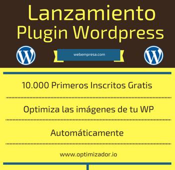 Lanzamiento Plugin Optimizador de Imágenes para Wordpress