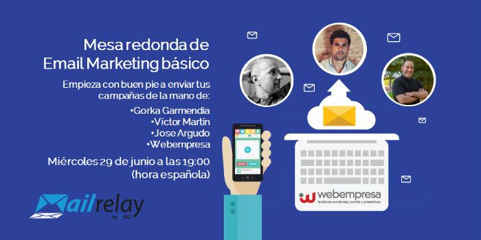 Mesa redonda email marketing