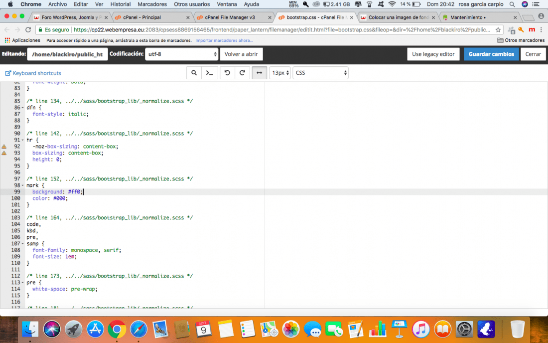 Imagen de fondo pantalla completa html