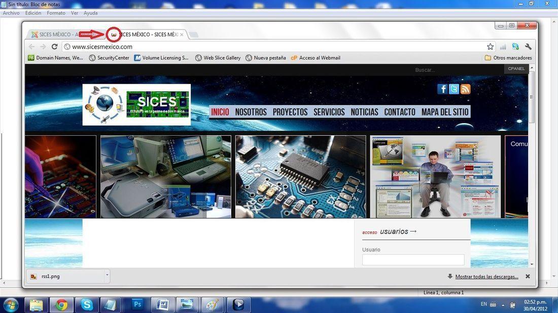 3bd4c18f98489 Icono de pagina web