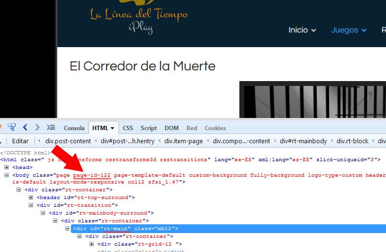 Como cambiar el color de la página o entrada de la plantilla de ...