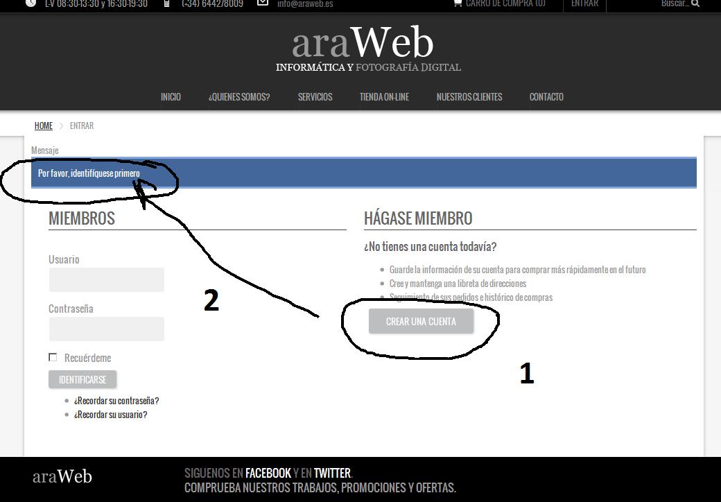Problema formulario registro con url amigables y plantilla ...