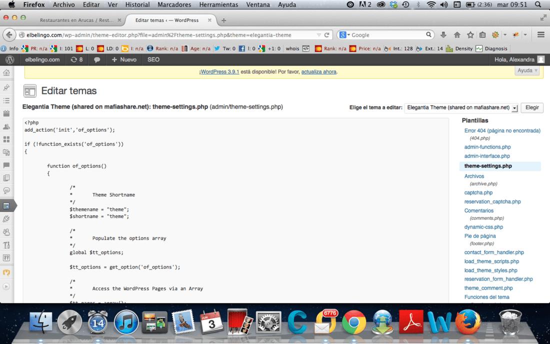 Personalizar header en wordpress